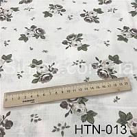 Ткань Лён принт HTN-013
