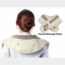 Cervical massage shawls Ударный массажер для спины, шеи и поясницы