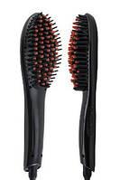 Электрическая автоматическая расческа выпрямитель Fast Hair Straightener с ионизацией черная