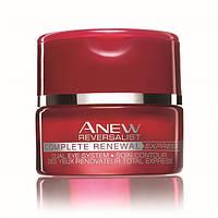 25229, Avon Cosmetics.Система для кожи вокруг глаз «Обновление» 35+: крем и бальзам, 15 мл + 2,5 г. Avon,25229