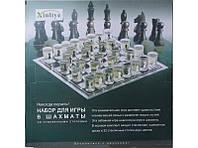 Набор для игры в шахматы со стеклянными стопками I3-93, шахматы со стопками, игра пьяные шахматы // I3-93