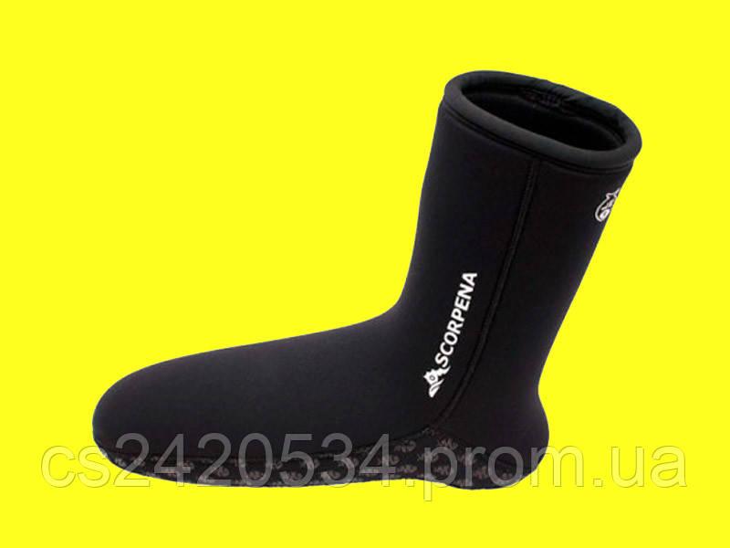 Носки для подводной охоты Scorpena A 6 мм