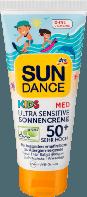 SUNDANCE Sonnencreme KIDS MED Ultra Sensitiv LSF 50+ - Детский солнцезащитный крем гипоаллергенный 50+, 100 мл