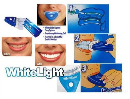 Отбеливание зубов в домашних условиях WHITE LIGHT, фото 2