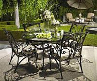 Кованая мебель садовая