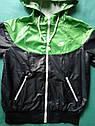 Детский Спортивный костюм унисекс плащевка на сетке Размер 38 Зеленый, фото 3