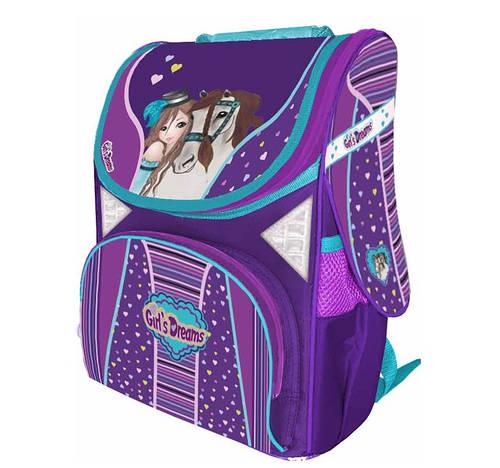 ee5c8a5d7542 Школьные ортопедические каркасные ранцы для девочек CLASS. Товары и услуги  компании