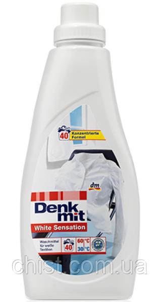 DenkMit гель для стирки белого белья White Sensation (1 л-40 стирок)