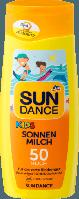 SUNDANCE Kids Sonnenmilch LSF 50, 200 ml - Детское солнцезащитное молочко фактор защиты 50, 200 мл