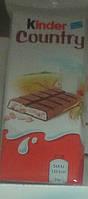 Шоколад Kinder Country 23g