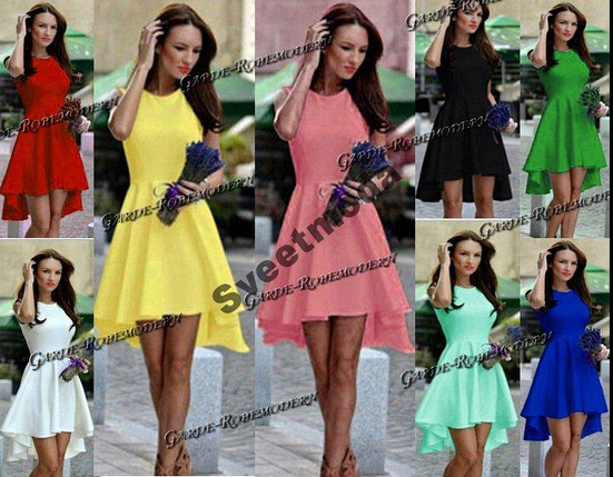 Женское платье Долли Шлейф 8 цветов S,M,L,XL, фото 2