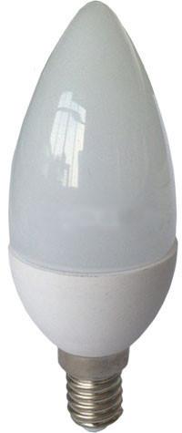 Світлодіодна лампа RIGHT HAUSEN Soft line HN-25.40.30 С37 6W E14 4000K. Код.58877