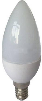 Светодиодная лампа RIGHT HAUSEN Soft line HN-25.40.30 С37 6W E14 4000K. Код.58877, фото 2