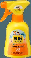 SUNDANCE Kids Sonnenspray LSF 50, 200 ml - Детский солнцезащитный спрей фактор защиты 50,  200 мл