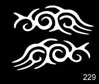 Трафарет № 229