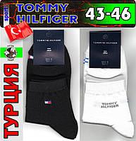 """Мужские носки демисезонные  """"TOMMY HILFIGER"""" Турция  43-46р ассорти   НМД-545"""