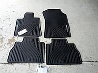 Toyota Tundra 2007-11 коврики в салон резиновые передние задние Новые Оригинальные