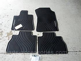 Toyota Tundra 2007-11 килимки в салон гумові передні задні Нові Оригінальні