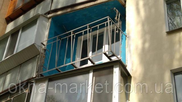 Балкон с выносом по полу Киев пр. Гонгадзе