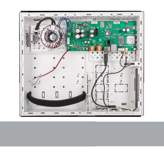 JA-106K-3G Контрольная панель с 3G/LAN коммуникатором