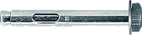 Анкер гильзовый с болтом REDIBOLT М6/8x45 (100шт/уп)