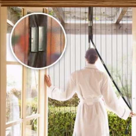 """Москитная штора сетка на дверь на магнитах """"Magic Mesh"""" - Интернет магазин top-shop24 в Одессе"""