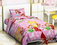 Комплект постельного белья WINX (Винкс) ТМ TAG 1,5 спальный комплект