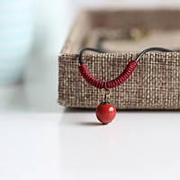 Подвеска кулон из керамики ювелирная бижутерия 3122