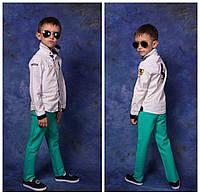 Весенние цветные детские джинсы с поясом в комплекте