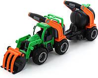 Трактор-погрузчик с цистерной ГрипТрак (37404)