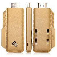 TS-02 Full HD 1080P EZCast Miracast Wi-Fi дисплей ключ w / Dlna / Miracast / AirPlay - Золотой