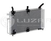 Радиатор  кондиционера ВАЗ-1118  с ресивером (PANASONIC) (LRAC 0118) ЛУЗАР
