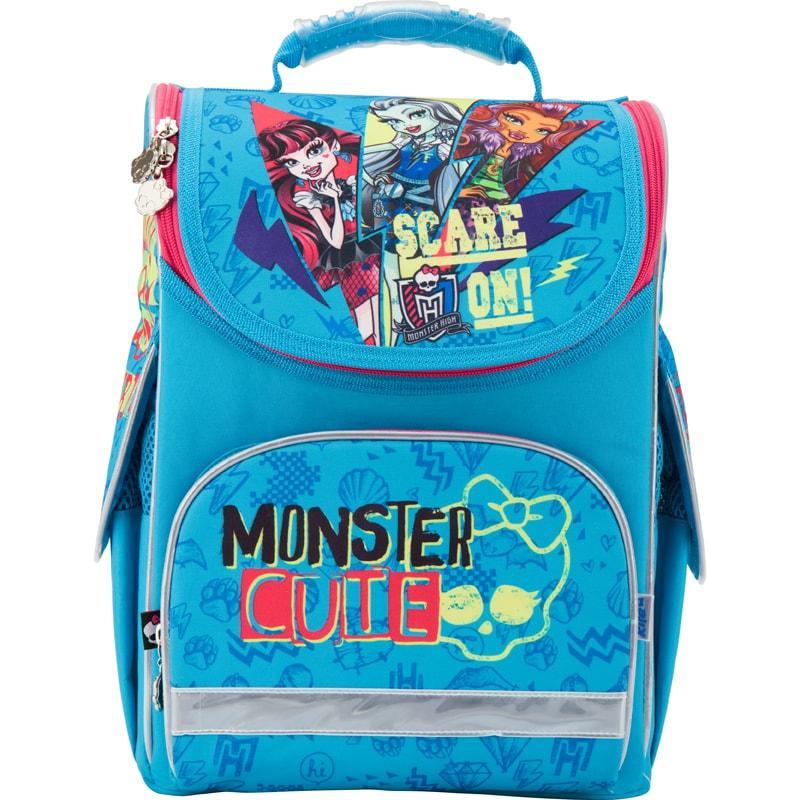 Рюкзак школьный каркасный (ранец) 501 Monster High, MH17-501S