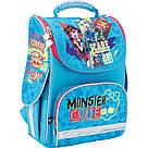 Рюкзак школьный каркасный (ранец) 501 Monster High, MH17-501S, фото 2