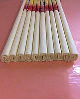 Гофрированная (креп) бумага для творчества, айвори