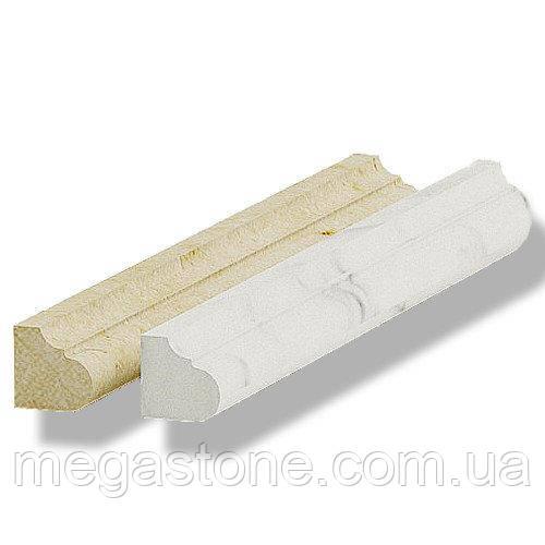 Фриз мрамор полир. Polaris/Crema Marfil ФМ-1П 305*30*30 мм