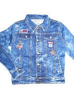 Джинсовая куртка для девочек, размеры 146,152. Seagull арт. CSQ-89706