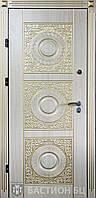 Входная дверь в частный дом (три  контура) модель Луксор