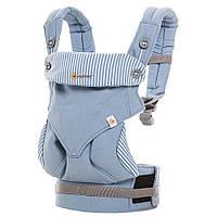 Эрго-рюкзак Four Position Ergobaby 360 AZURE BLUE в коробке с инструкцией