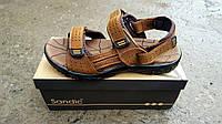 Мужские кожаные сандали Sandik, фото 1