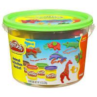 Play-Doh Набор в мини ведерке Animal Activities