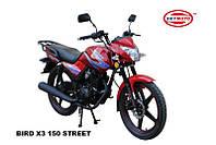 Практичный и стильный Мотоцикл Bird Х3 150 Street