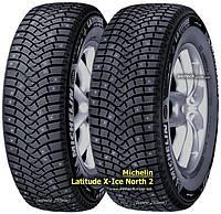 Шины зимняя внедорожные Michelin Latitude X-Ice North 2+ 245/55 R19 107T XL (шип)