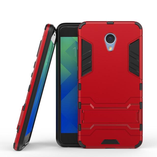 чехол противоударный Meizu М5 note красный