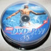 Диски VS Mini DVD-RW 1.4Gb CB 10pcs 2x