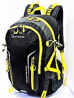 Рюкзак туристический треккинговый средний LEADHAKE DG-436 черный