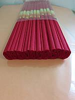 Гофрированная (креп) бумага для творчества, красная