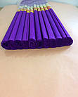 Гофрированная (креп) бумага для творчества, фиолетовая, фото 2