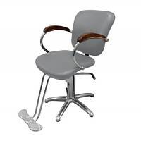 Кресло парикмахерское BM 68127 Silver
