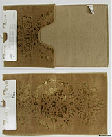Набор ковриков для ванной 2шт Arya Luxor коричневый AR41